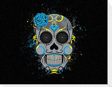 Diabolical Sugar Skull by seventhfury