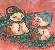 Ladybird Picnic by Steven Novak