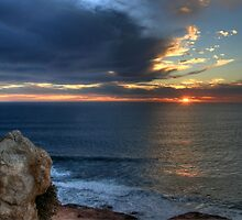 Red Bluff Sunset by BarkingGecko