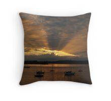 Sunrise At Batemans Bay - Australia Throw Pillow
