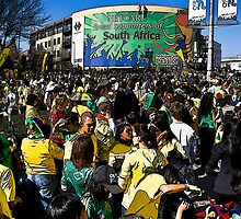 World Cup Soccer Fever Grips Sandton by RatManDude