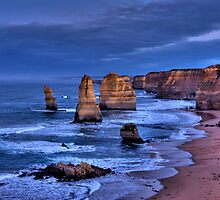 The Twelve Apostles Marine National Park by Cecily McCarthy