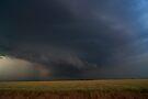 Clouds Plowing the Oklahoma Wheat Fields by MattGranz