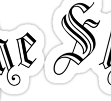 The Shire , Arched type Sticker