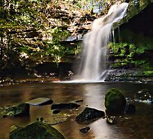 Summerhill Force & Gibsons Cave - Teesdale, Durham by David Lewins
