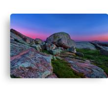 """""""Dawn At The Rocks"""" Canvas Print"""