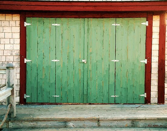 Wide Barn Door by RC deWinter