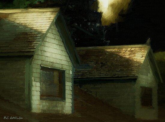 Blackbird Singing in the Dead of Night by RC deWinter