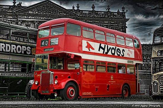 No. 40 bus to Albert Square by David J Knight