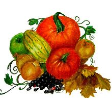 Autumn fruits by Deri McDonagh