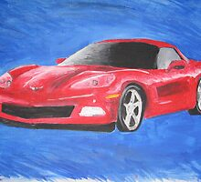 Brother's Corvette by miladymerr