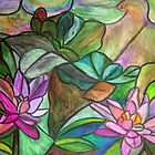 Waterlilies II by Marsha Free