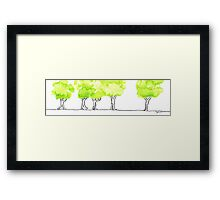 Treetrip Framed Print