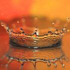 water splash crown by Moonen