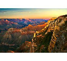 Sunset at Grand Canyon National Park, Arizona Photographic Print