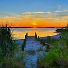 Fenwick Island Sunset by Monte Morton