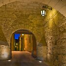 Mdina Malta Greek's Gate by Edwin  Catania