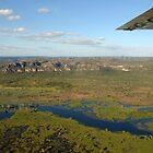 Kakadu from the air. The wetlands by georgieboy98