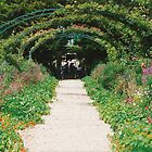 Monet's garden, Giverny, summer 1994 by BronReid
