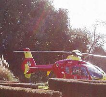 Wales Air Ambulance by anaisnais