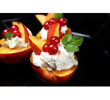 Fruity and Cheesy Photographic Print