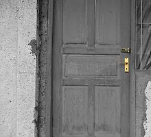 a wooden door by bayu harsa