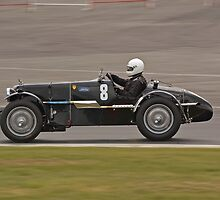 1935 MG KN Special by Willie Jackson