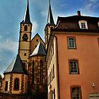 Rothenburg,Germany by Darlene Virgin
