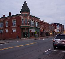 Downtown Yarmouth, Nova Scotia by Harv Churchill