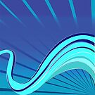 Blue waves vector by robertosch