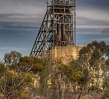 Mining In The Bush by Rod Wilkinson