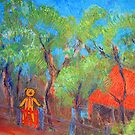 """""""The Bear's House"""", little house in the woods. by Mary Taylor"""
