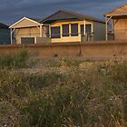 Whitstable Beach Huts by Skinbops