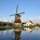 Windmill in Holland by Hans Kool