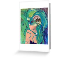 """Under the sea - from """"Hidden sight"""" series Greeting Card"""