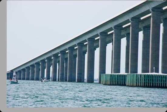 Sunshine Skyway Bridge by phil decocco
