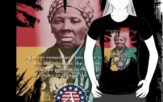 harriet tubman by arteology