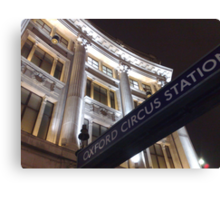 Nokia Collection - Oxford Circus Canvas Print
