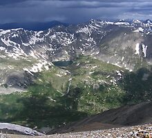 The Coming Tempest, Mount Cameron, CO 2010 by J.D. Grubb
