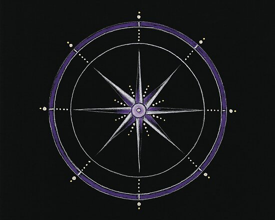 Crown Chakra Mandala by Laural Virtues Wauters