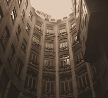 Inside Casa Mila by Matt Nolan