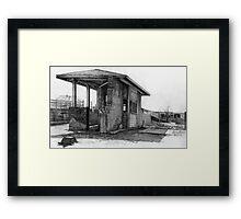 Weigh Station Framed Print