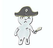 pirate mugi Photographic Print