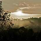 Sunrise in Dalat city, Vietnam by MadsMonsen