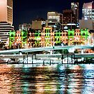 Brisbane Fairy Lights by A.David Holloway