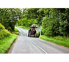 Along The Country Road Photographic Print
