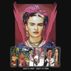 happy birthday frida by arteology