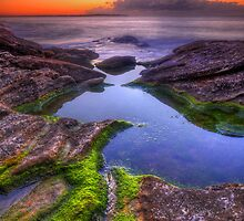 Mossy pool by Kounelli