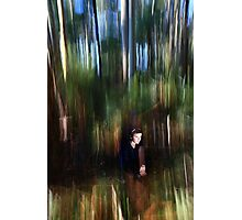 Iost in the brush strokes Photographic Print