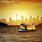 Last Ferry, Watsons Bay by Annette Blattman
